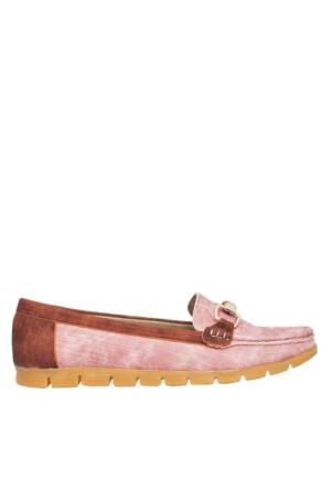 UK Polo Club P64921 Kadın Günlük Ayakkabı - Pudra