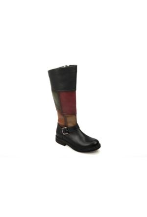 Uniquer Kadın Çizme 6361U 660 Siyah