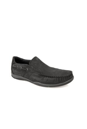 Ziya Erkek Hakiki Deri Ayakkabı 7129 111531 Siyah