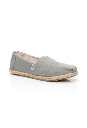 Toms Alpargata Yeşil Kadın Ayakkabı 10009754