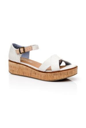 Toms Harper Krem Kadın Ayakkabı 10010005