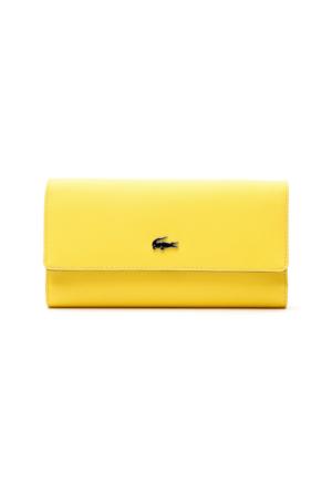 Lacoste Daily Classic Sarı Kadın Cüzdan Nf2111Dc.006