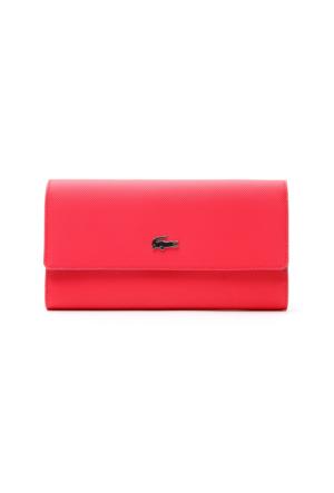 Lacoste Daily Classic Kırmızı Kadın Cüzdan Nf2111Dc.949