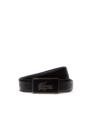 Lacoste Premium Erkek Siyah Kemer Rc1559.Hc9