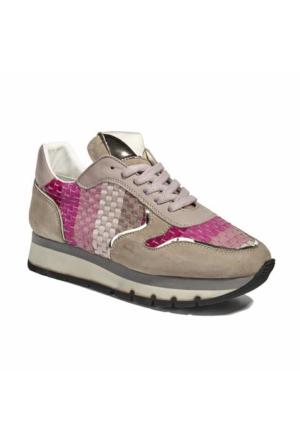 Desa Collection Hale Örgülü Deri Kadın Spor Ayakkabı