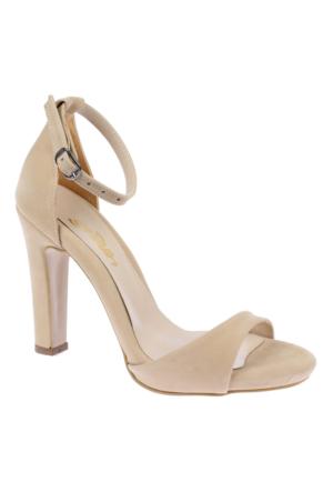 Shalin Tlg 15 Ten Süet Kadın Ayakkabı