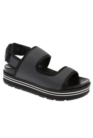 Shalin Szr 121 Gri Kadın Sandalet
