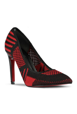 Marjin Argo Topuklu Ayakkabı Kırmızı
