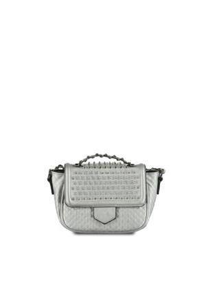 Marjin Size Günlük Çanta Gümüş