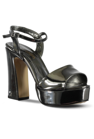 Marjin Seben Platfrom Topuklu Ayakkabı Vizon