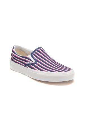 Vans Classic Slıp-On Mavi Kadın Ayakkabı