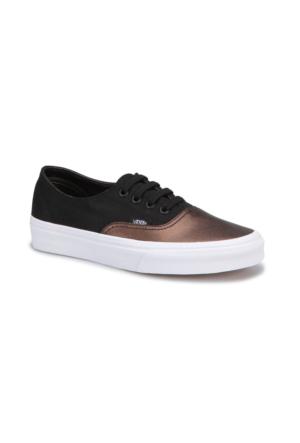 Vans Ua Authentic Decon Bronz Siyah Kadın Ayakkabı