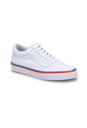 Vans Ua Old Skool Beyaz Kadın Sneaker Ayakkabı