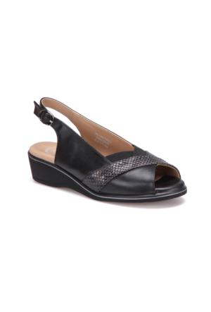 Polaris 5 Nokta 71.109726Gz Siyah Kadın Sandalet