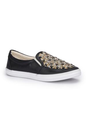 Polaris 71.354979.Z Siyah Kadın Ayakkabı