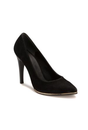 Miss F DS17025 Siyah Kadın Gova Ayakkabı