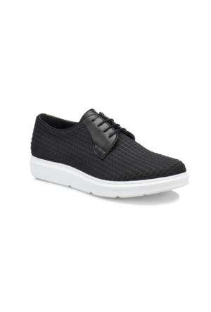 JJ-Stiller 65300 M 6685 Siyah Erkek Ayakkabı