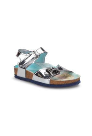 Frozen 90425T Gümüş Kız Çocuk Sandalet