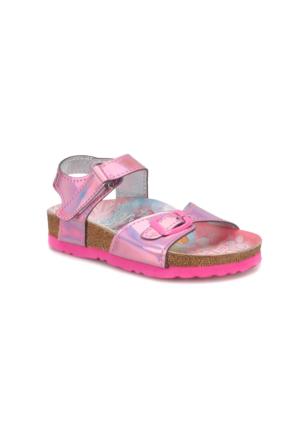 Frozen 90427T Pembe Kız Çocuk Sandalet