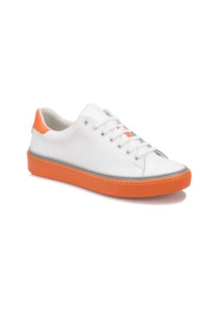Forester 79127-1 M Beyaz Turuncu Erkek Sneaker Ayakkabı