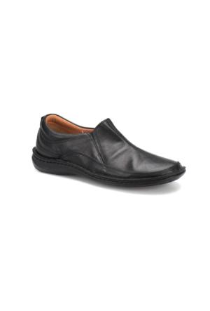 Flogart CK-30-1 M 1405 Siyah Erkek Deri Klasik Ayakkabı