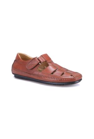 Flogart G-82 M 1455 Taba Erkek Deri Klasik Ayakkabı