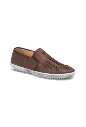 Flogart G-97 M 1455 Kahverengi Erkek Deri Ayakkabı