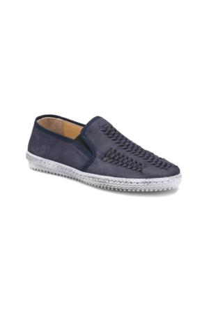 Flogart G-97 M 1455 Lacivert Erkek Deri Ayakkabı