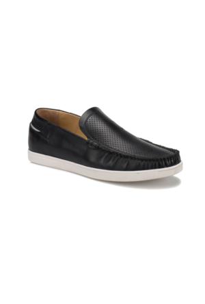 Flogart KL-167 M 1506 Siyah Erkek Deri Ayakkabı