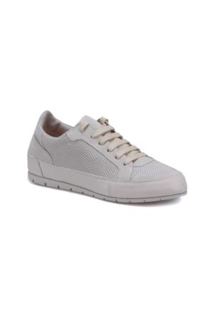 Butigo 171M4501Mneepe Bej Kadın Deri Sneaker Ayakkabı