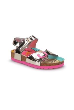Barbie 90283T Altin Kız Çocuk Sandalet