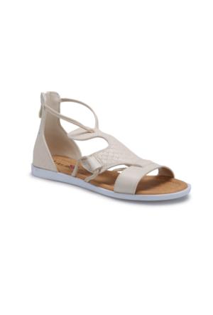 Art Bella ART06 Beyaz Kadın Sandalet