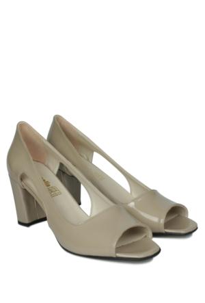Loggalin 375010 031 320 Kadın Krem Rengi Günlük Ayakkabı
