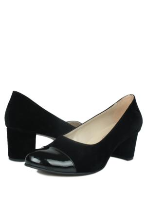 Loggalin 375004 031 008 Kadın Siyah Ayakkabı
