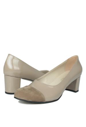 Loggalin 375004 031 324 Kadın Bej Ayakkabı