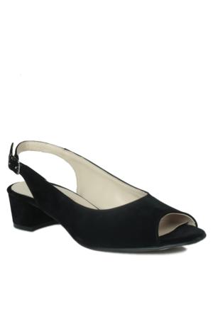 Loggalin 375109 031 008 Kadın Siyah Sandalet