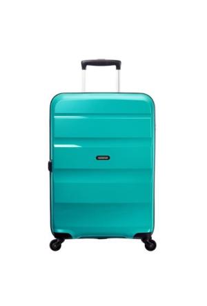 American Tourister Bon Air 55 Cm Kabin Boy Spinner Valiz Deep Turquoise