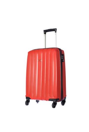 Pierre Cardin Kumaş Kabin Boy PC2000-S Kırmızı