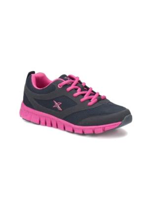 Kinetix Kadın Fitness-Spor Ayakkabısı Almera W Lacivert Fuşya