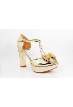 Bridal Smilee Kalpli Topuklu Kadın Ayakkabı 113260 02