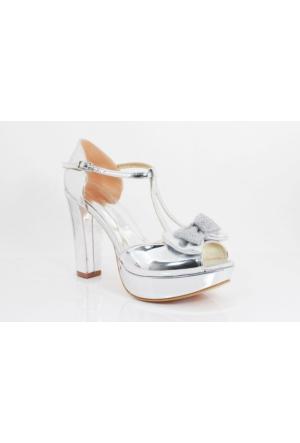 Bridal Smilee Kalpli Topuklu Kadın Ayakkabı 113260 03