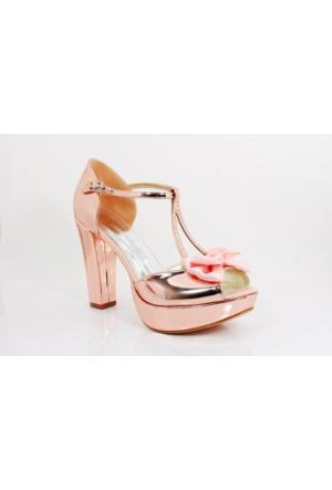 Bridal Smilee Kalpli Topuklu Kadın Ayakkabı 113260 05