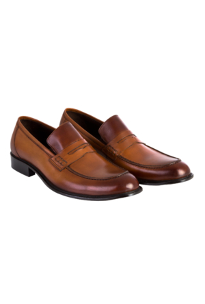 Kiğılı Neolit Taban Deri Ayakkabı Taba 125838