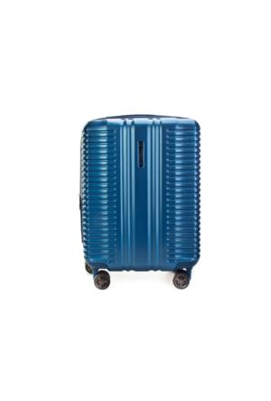 NK Premium Kabin Boy Günlük Valiz Mavi