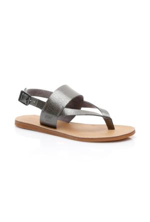 Timberland Carolista Kadın Gri Sandalet Ca1Gfm