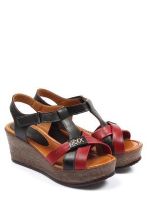 Gön Deri Kadın Sandalet 45318