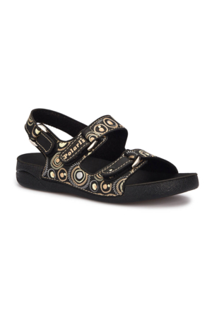 Polaris 71.509243.F Siyah Erkek Çocuk Athletic Sandalet