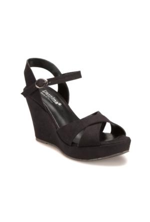 Miss F R132078 Siyah Kadın 545 Sandalet