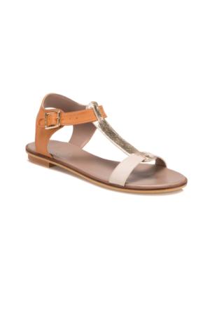 Butigo S939 Taba Altın Kadın 545 Sandalet