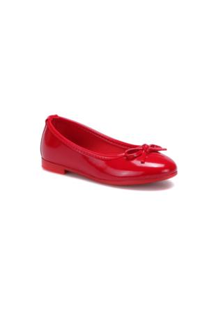 Seventeen Rugy Kırmızı Kız Çocuk Babet